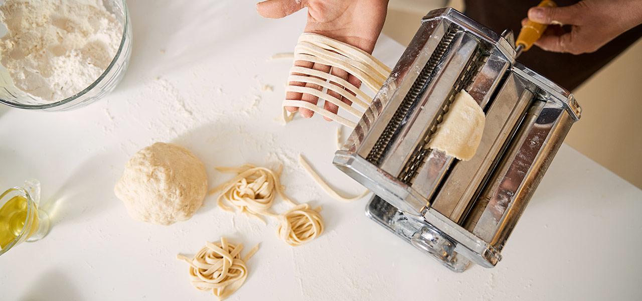 invenzione macchina per fare la pasta