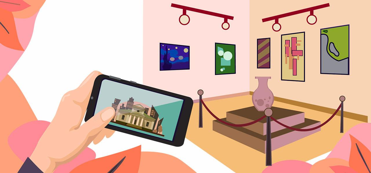musei virtuali arte digitale