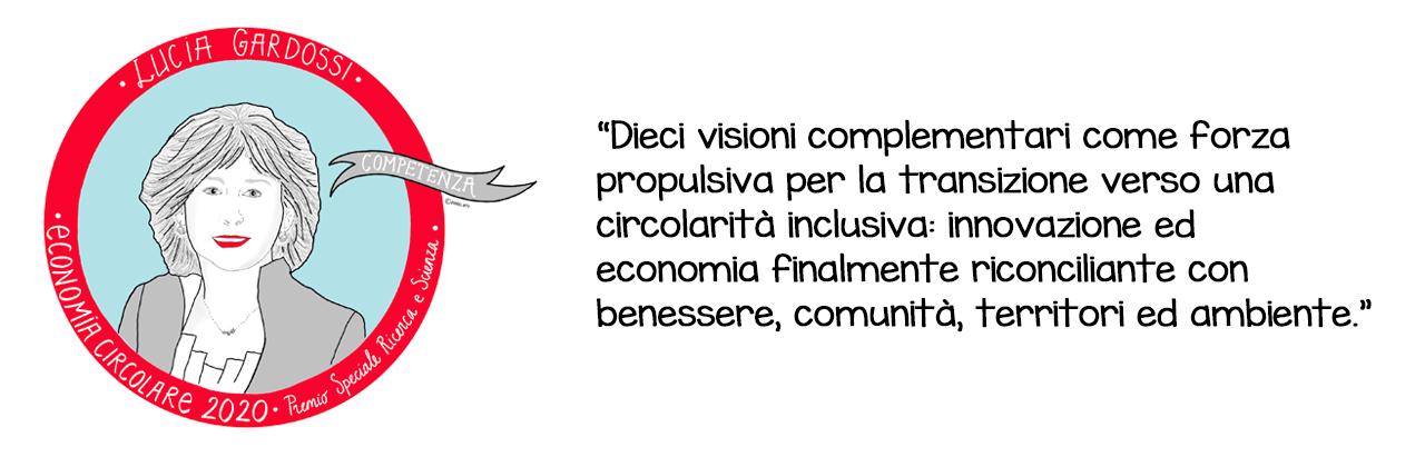 bio economia circolare Lucia Gardossi