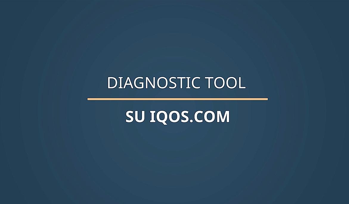 IQOS Solver, lo strumento di auto diagnostica