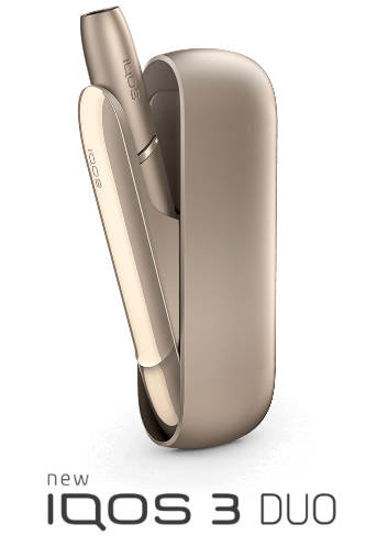 dispositivo IQOS 3 DUO in oro