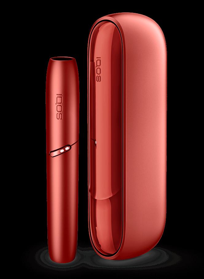 Dispositivo IQOS 3 DUO in rosso