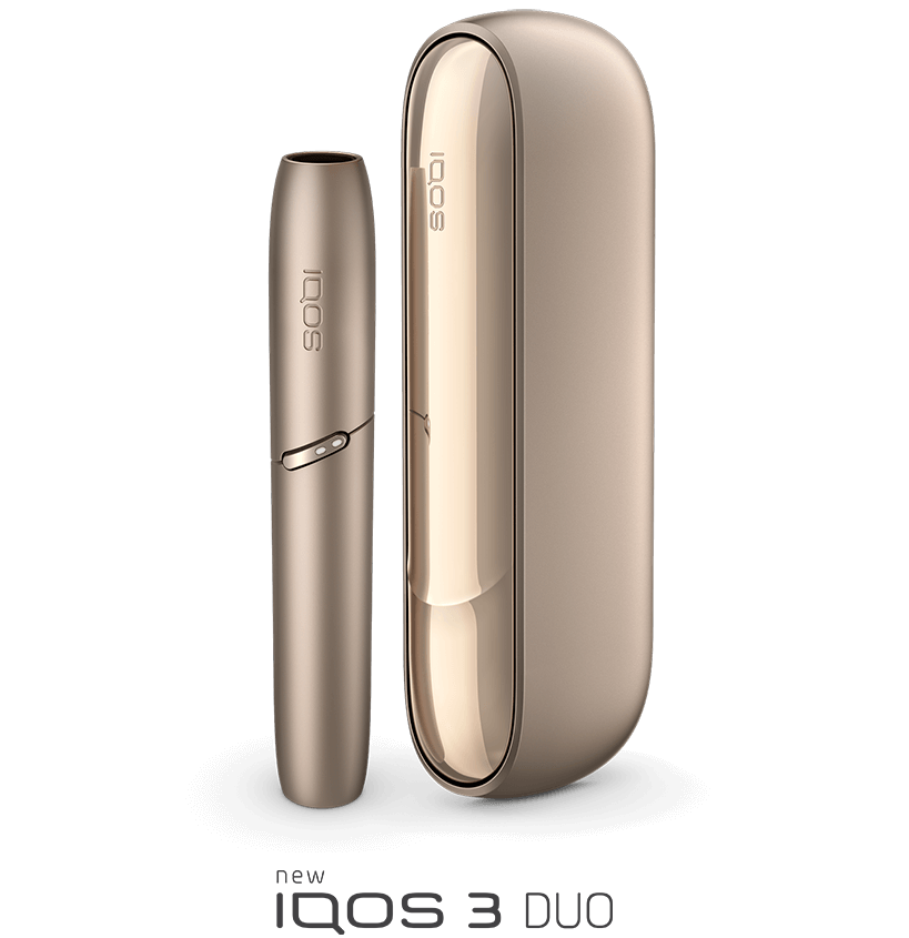 IQOS 3 DUO in gold