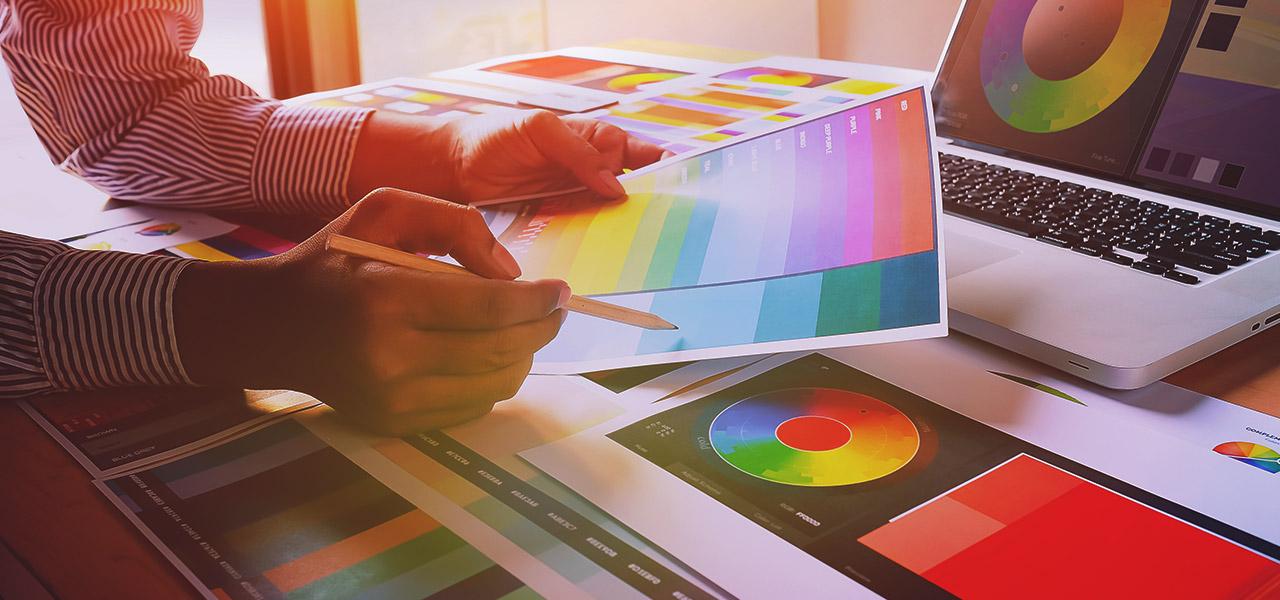 tecnologia e colori codici
