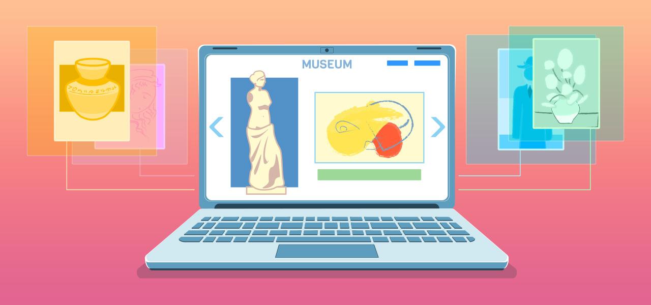 musei virtuali visite online
