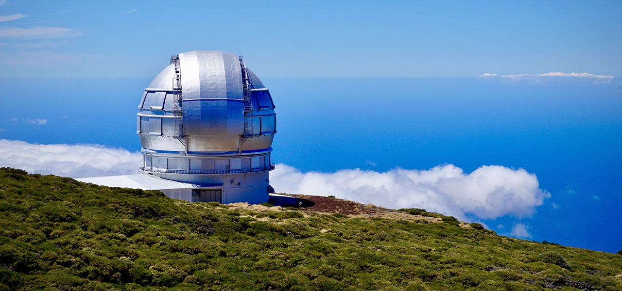Roque de Los Muchachos osservatorio astronomico Canarie